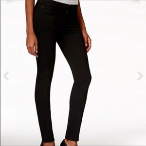 Buffalo Hope mid rise skinny black stretch jeans